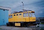 Snow-sweeper tram